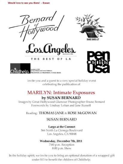 Marilyn invite